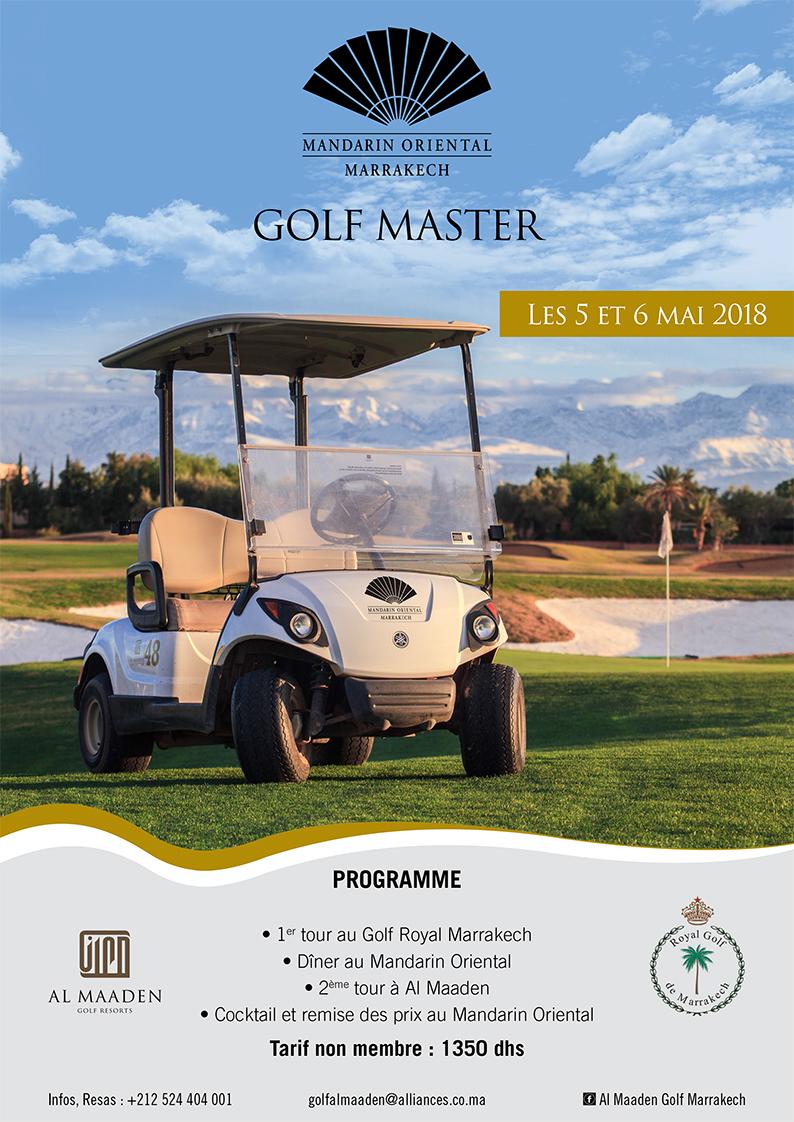 Golf Master Mandarin Oriental Marrakech
