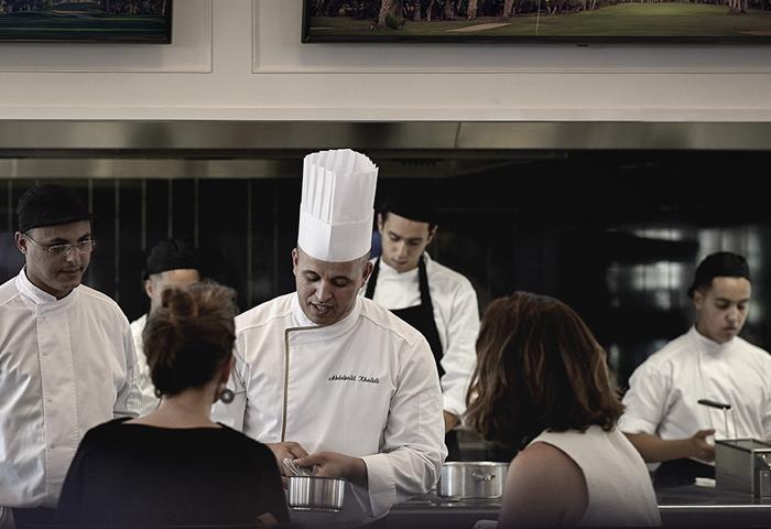 Restaurant Club-House Abdeljalil Khalidi Royal Golf Marrakech